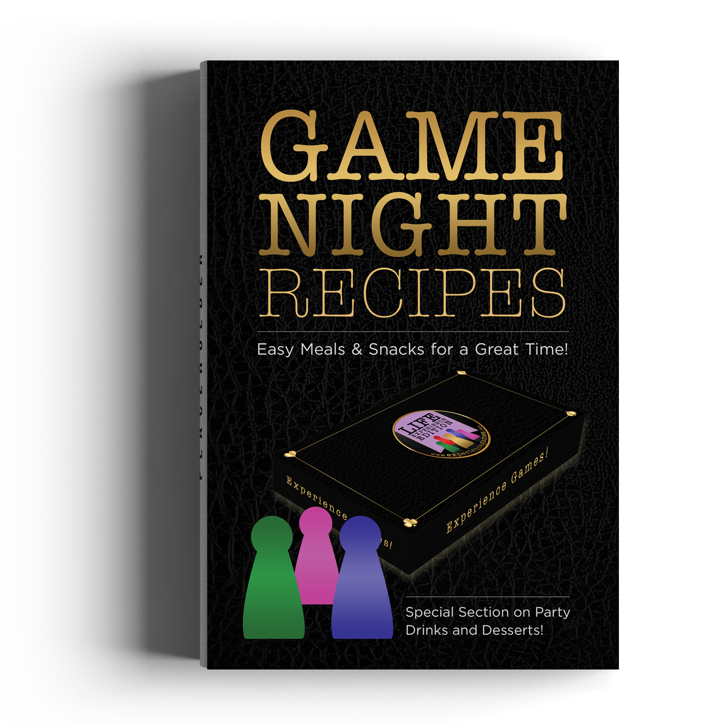 Experience Games: Game Night Party Recipes Book