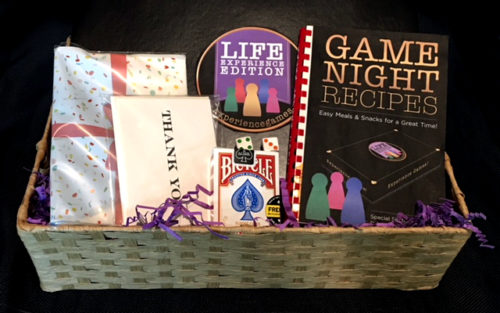 Experience Games - Game Night Basket