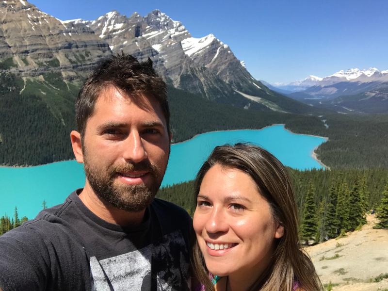 Peytro Lake, Banff, Canada
