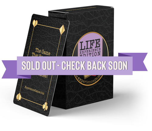 Life Experience Card Game - Sold Out