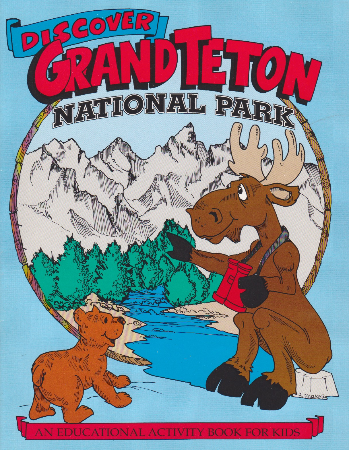 Grand Tetons Book
